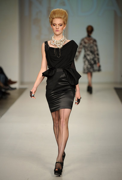 A look from NADA's Spring 2010 Collection on 10/22/09