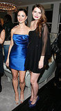 Georgina Chapman and Mischa Barton