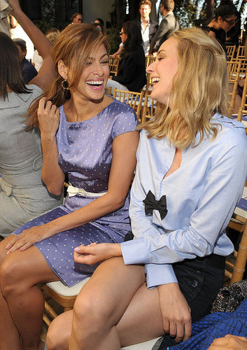 Jessica Alba, Diane Kruger and Eva Mendes Attend the CFDA/Vogue Fashion Fund Runway Show in Los Angeles