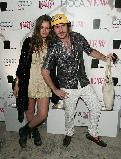 "Atlanta de Cadenet and Mark ""Cobrasnake"" Hunter"