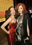 Rose McGowan and Shirley Manson