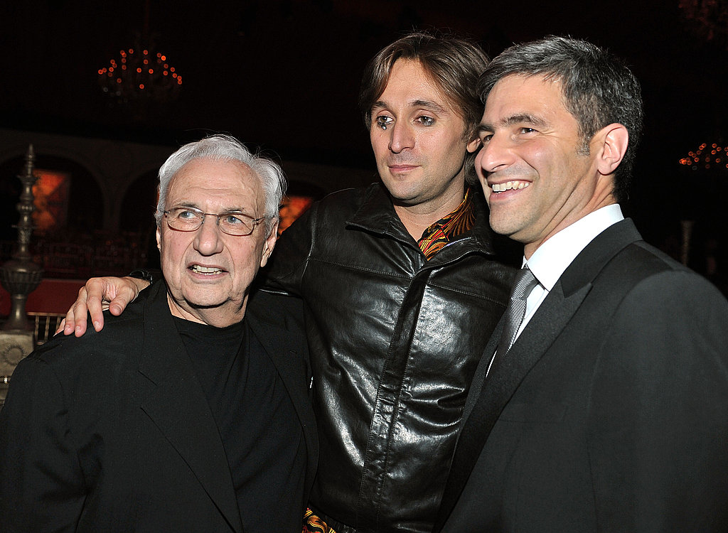 Frank Gehry, Francesco Vezzoli, and Michael Govan