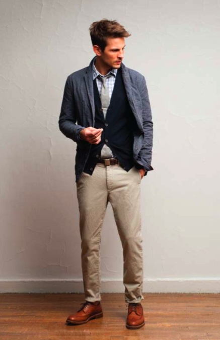 Chambray Ties, Wing Tips, and Cadet Jackets for J.Crew's Menswear Collection