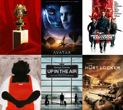 Which Film Will Win the 2010 Golden Globe for Best Motion Picture-Drama?