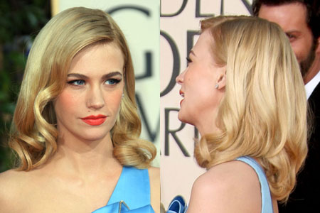 A Look Back at the Best Celebrity Hairstyles of the 2009 Golden Globe Awards