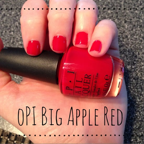 Always in search of the perfect classy red nail polish