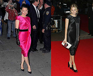 Who Wore It Better? Alexander McQueen Asymmetrical Drape Dress