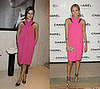 Who Wore It Better? Pink Chanel Dress