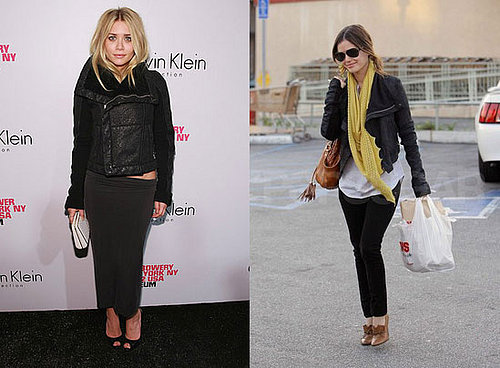 Who Wore It Better? Rick Owens Biker Jacket