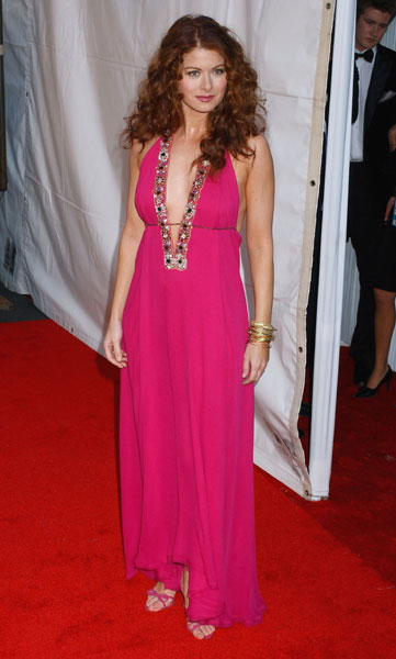 Debra Messing, Fierce in Fuchsia
