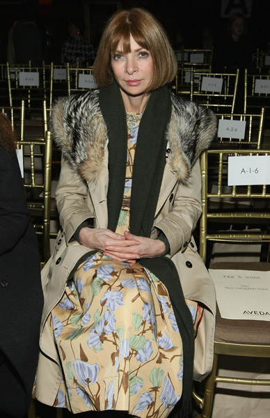 Anna Wintour at Rag & Bone