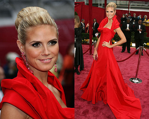 Oscars Red Carpet: Heidi Klum