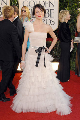 Cameron Diaz Is Romantic in Valentino in 2007