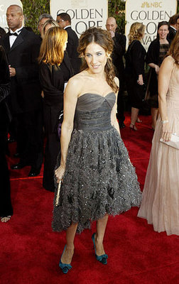 Sarah Jessica Parker in Ruffled Grey in 2004