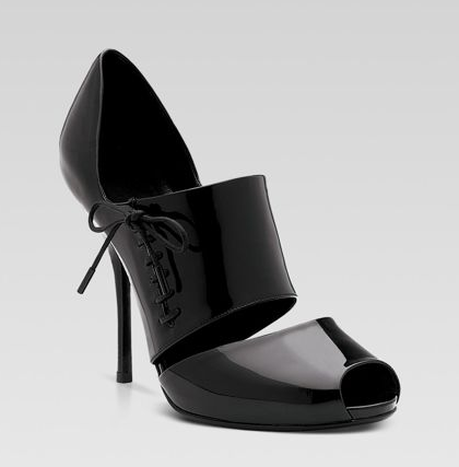 The Look For Less: Gucci Corset Patent Heels