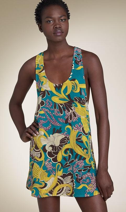 Karen Zambos Vintage Couture Tank Minidress