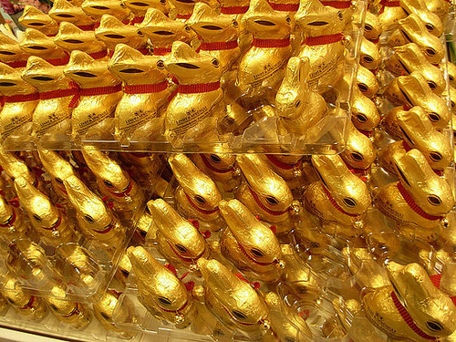 All hail the Lindt bunny