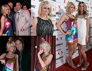 Hiltons Ring In '08 With Sequins (and Federline)