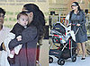 Salma Hayek and Baby Valentina on Robertson