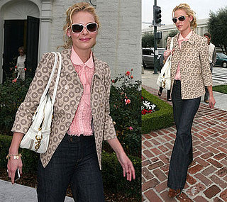 Katherine Heigl at Lunch in West Hollywood