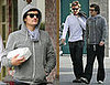 Orlando Bloom Relaxes in His Dark House