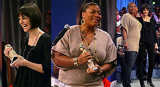 Katie Holmes And Queen Latifah On BET