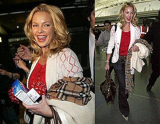 Katherine Heigl at JFK