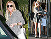 Lohan Loses Her Leggings — Maybe For Some Scrubs