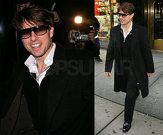 Tom Cruise Smiles and Keeps the World Talking