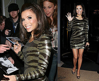 Eva Longoria Goes Wild (Rawr!) in London