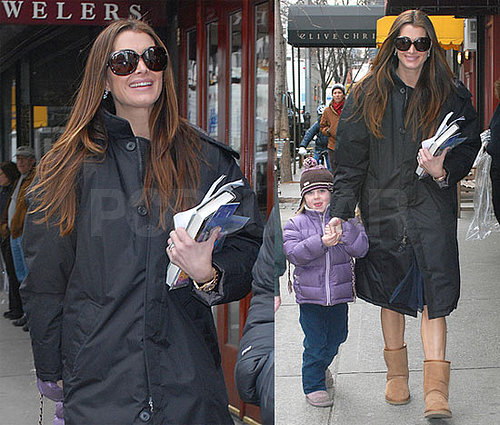 Brooke Shields and Rowan Henchy In NYC