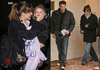 Jennifer and Violet Affleck Stay Healthy, Afflecks House-hunting