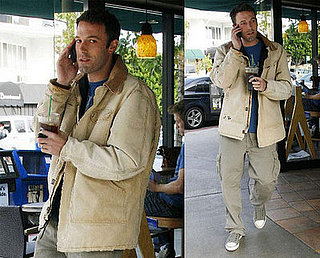 Ben Affleck at Starbucks