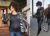 Pregnant Halle Berry Out in LA on January 30, 2008