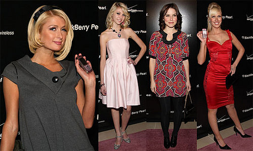 Paris Hilton at the BlackBerry Pearl Party in New York