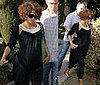 Halle Berry Keeps Her Baby Body Guarded