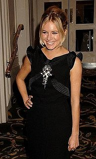 Sienna Miller at the Awards Of The London Film Critics Circle Cocktail Party on February 8 2008