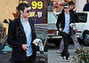 Adam Brody Steams Up His Subway Run
