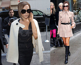 Victoria Beckham in NYC on Feb. 6, 2008