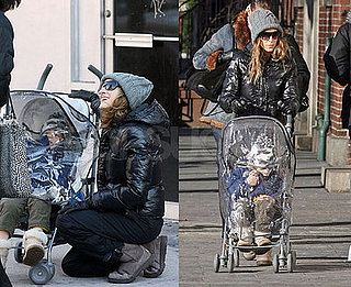 SJP Keeps Her Little Man Protected