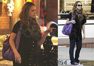 Jessica Alba's Pretty Purple Valentine's Day