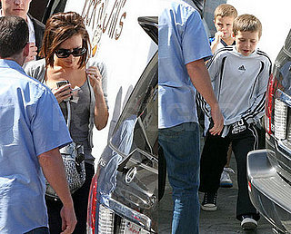 Most of the Beckhams Are Back to Being LA Babies