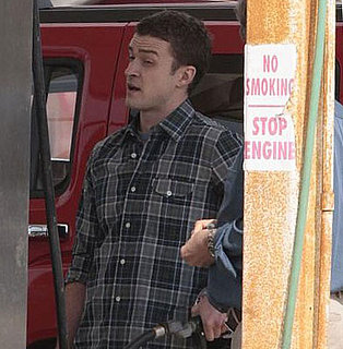 Justin Timberlake on the Set of The Open Road in Louisiana