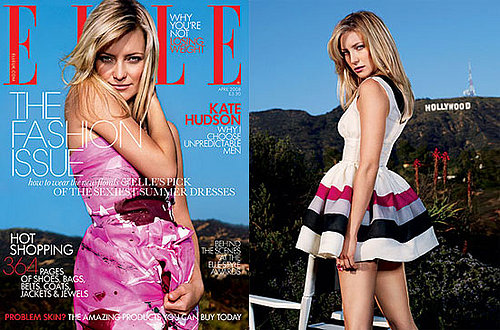 Kate Hudson on the Cover of Elle UK