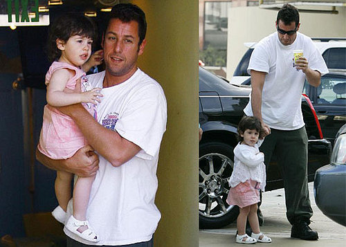 Sadie Sandler Is Daddy's Little Girl