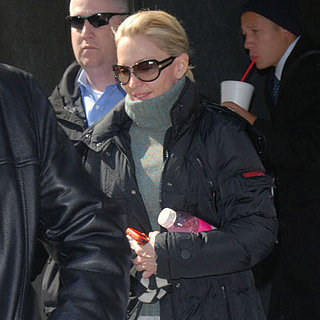 Madonna Leaving a Gym in NYC on March 10, 2008