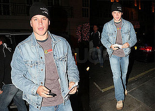 Matt Damon Brings His Passion For Denim to the UK