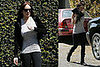 Lindsay Lohan and Samantha Ronson at the Santa Monica Airport