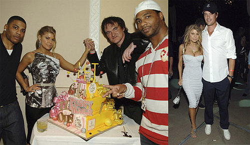 Fergie and Quentin Tarantino's Birthday Party in Las Vegas