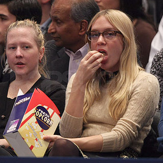 Chloe Sevigny at the Federer/Sampras Match in NYC
